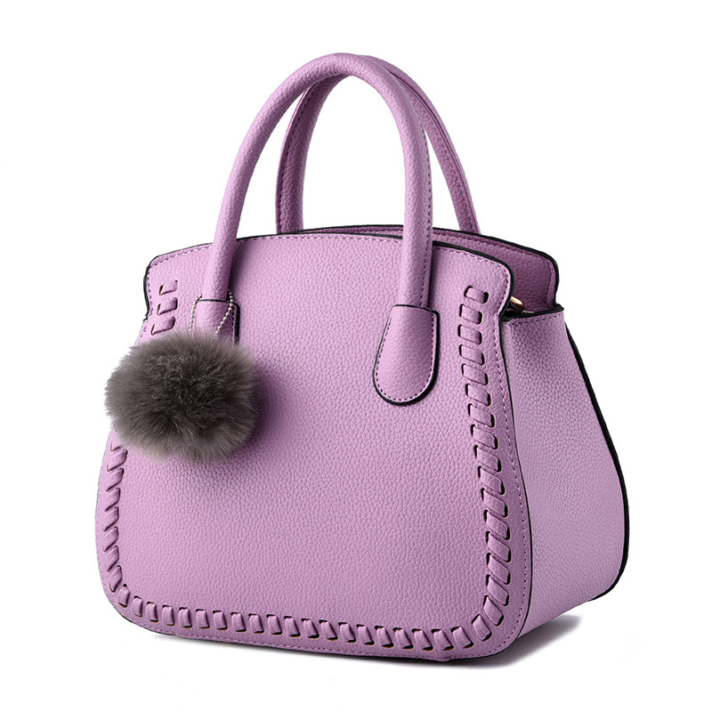 Elegant Violet PU Office Lady Handbag Clutch Embossing Womens Shoulder BagElegant Violet PU Office Lady Handbag Clutch Embossing Womens Shoulder Bag