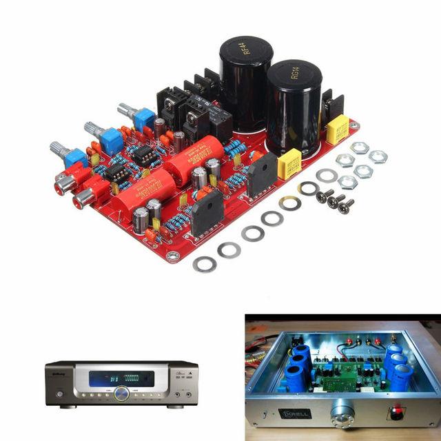 LM3886 + NE5532 68 W + 68 W Placa Amplificador de Potência Frete Grátis