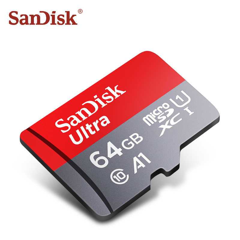 Carte SanDisk micro sd 128gb classe 10 carte tf 32g 16g tarjeta micro sd 64gb carte flash originale carte sd carte mémoire adaptateur gratuit