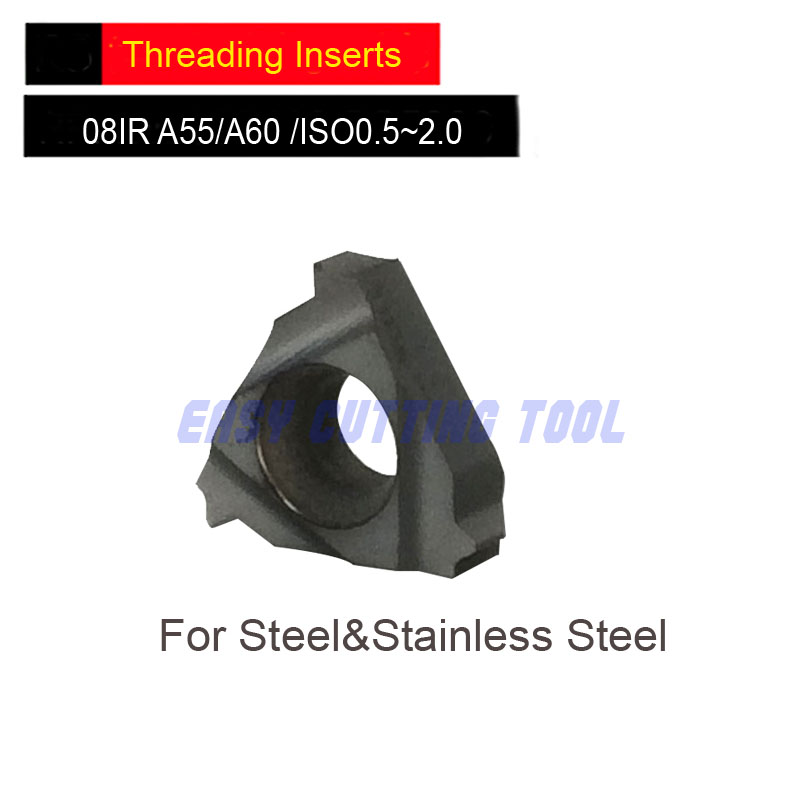10P 11IR A55 K15 Threading Blade CNC Carbide Insert  For Aluminum parts