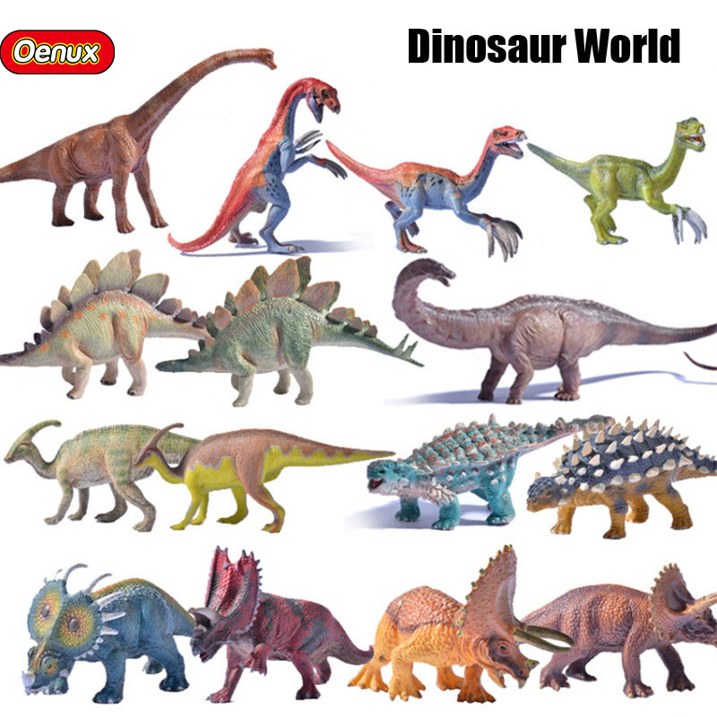 Oenux Prehistoric Jurassic Pvc T Rex Therizinosaurus
