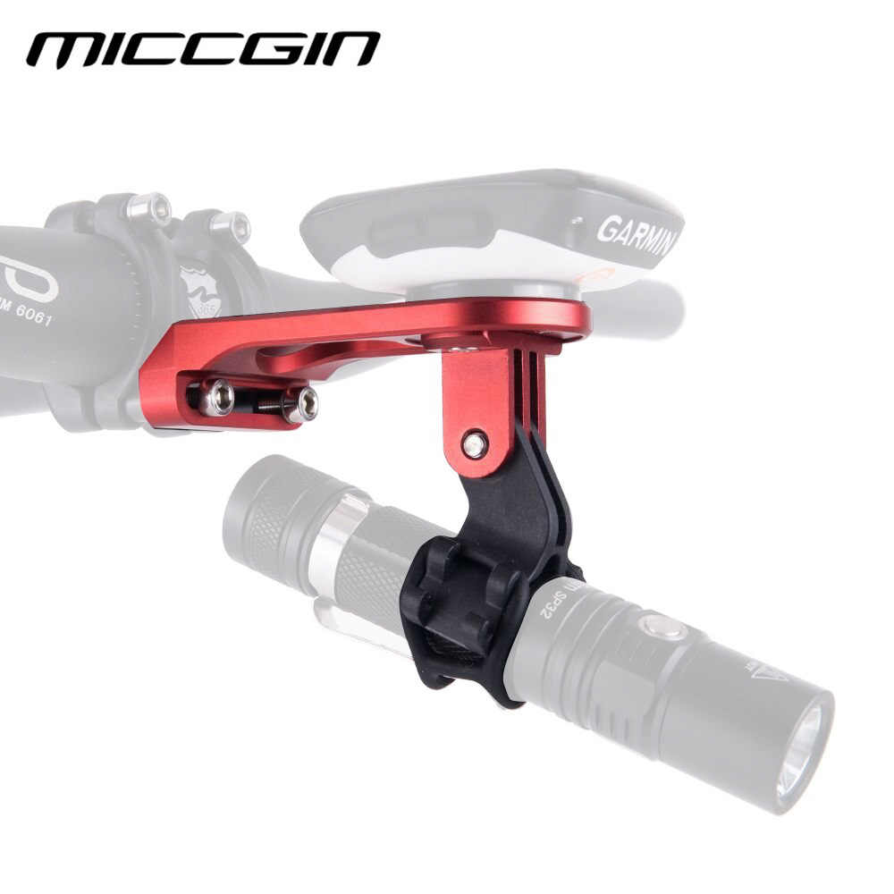 MICCGIN Fiets Computer Camera Mount Houder Out front bike Mount van bike mount accessoires voor iGPSPORT Garmin Bryton GoPro