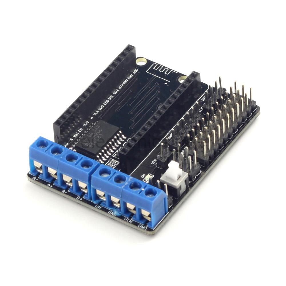 L293d Motor Driver Board Esp8266 Wifi Nodemcu Lua Esp12e