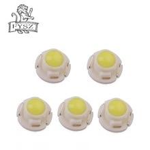 FYSZ T4.2 12v 0.24W LED instrument light vehicle light vehicle instrument panel bulb white red blue yellow green 5Pcs