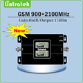 Double LCD Display Gain 65dB Dual Band Signal Booster GSM 900MHz 2100MHz 2G 3G GSM WCDMA EDGE/ HSPA Mobile signal Repeater