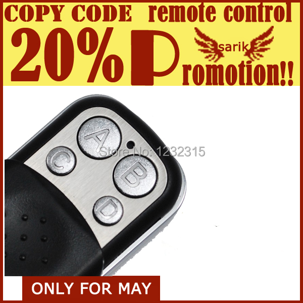Popular Universal Garage Door Remote Control Buy Cheap