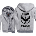 New Moltres Team Valor Pokemon Go Hoodies Sweatshirt Men Casual  Male Jackets Hoody Cloak Shawl Men Cloth Warm