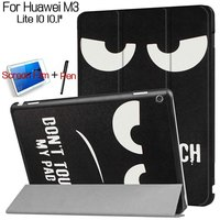 Luxury Colorful Painting Stand Smart Cover PU Leather Case For Huawei Honor 2 8 0 Inch