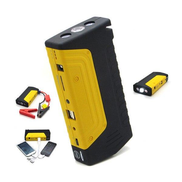 Многофункциональный Автомобиль Скачок Стартер Зарядки для Мобильного Телефона Портативных Пуска Бензиновых и Дизельных Двигателей, Аварийный Молоток