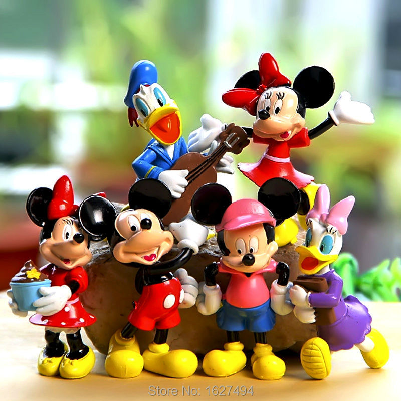 Mickey Mouse Toys : Online buy wholesale mickey mouse figurines from china