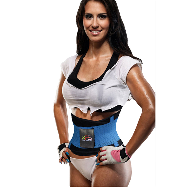 d65ed113393 Xtreme Thermo Power Hot Body Shaper Girdle Belt Waist Cincher Underbust  Control Corset Firm Waist Trainer Slimming Belly
