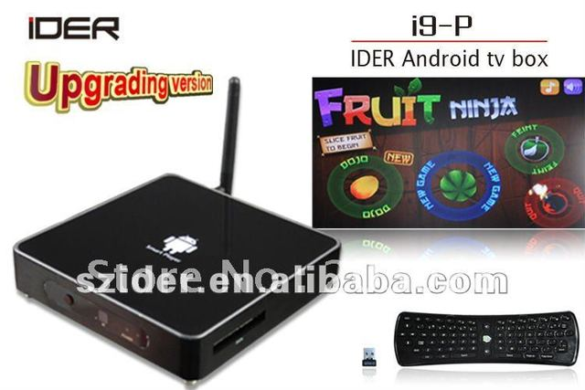 Hot selling top quality android 2.3 internet box,DVB-T