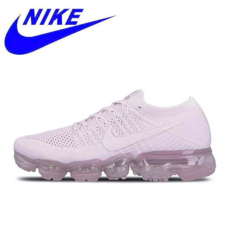 reputable site 94fbc 844cb Nike Air VaporMax Flyknit Women s Original New Arrival Official Breathable  Running Shoes Sports Sneakers Trainers