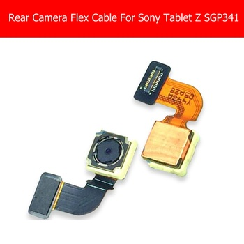 100% Genuine Front & Rear camera module for Sony Tablet Z Sgp 341 331 312 back camera with flex cable good tested replacement