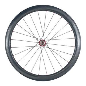 Image 5 - סופר אור 1420g 45mm נימוק מכריע U צורת כביש אופני סיבי פחמן ישר משיכה גומות זוג גלגלי Powerway R36 רכזות גומת גלגלים