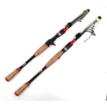 1.8m/2.1m/2.4m/2.7m Lure Fishing Pole ML/M Casting Spinning Fishing Rod Telescopic Carbon Fishing Rod Tackle недорого