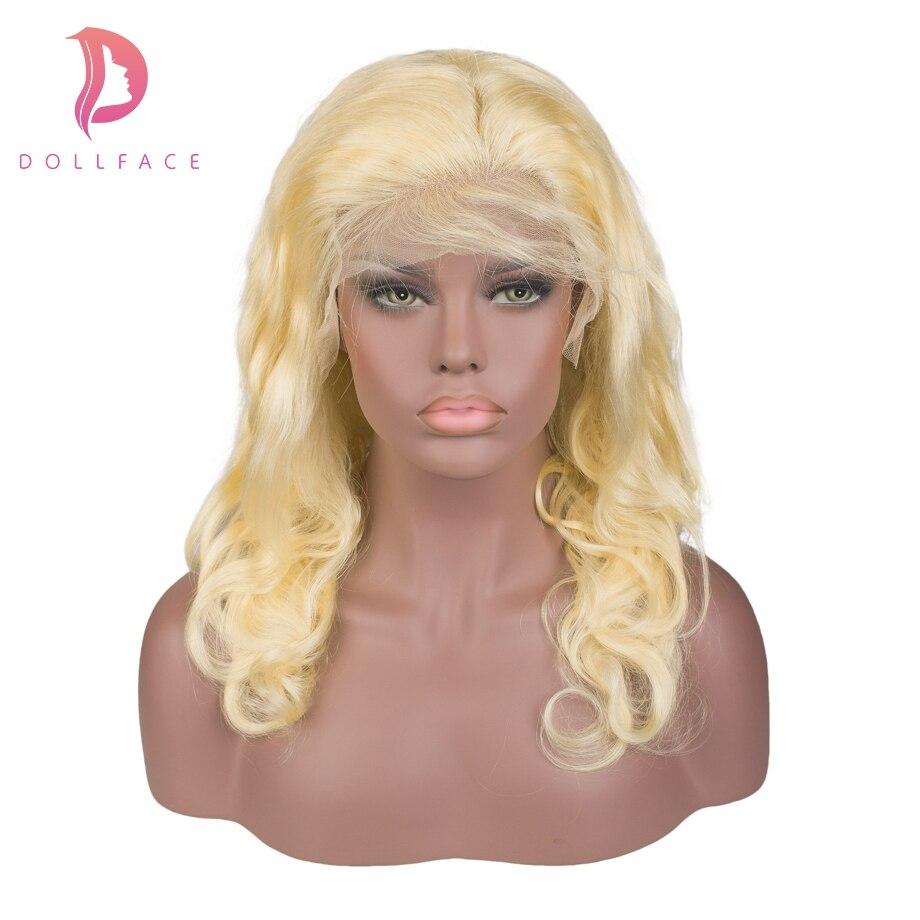 Lace Perücken Aus Dem Ausland Importiert Blonde 613 Spitze Front Menschliches Haar Perücken Für Schwarze Frauen Pre Gezupft Perücke Mit Baby Haar Körper Welle Remy Haar Freies Verschiffen Dollface Profitieren Sie Klein