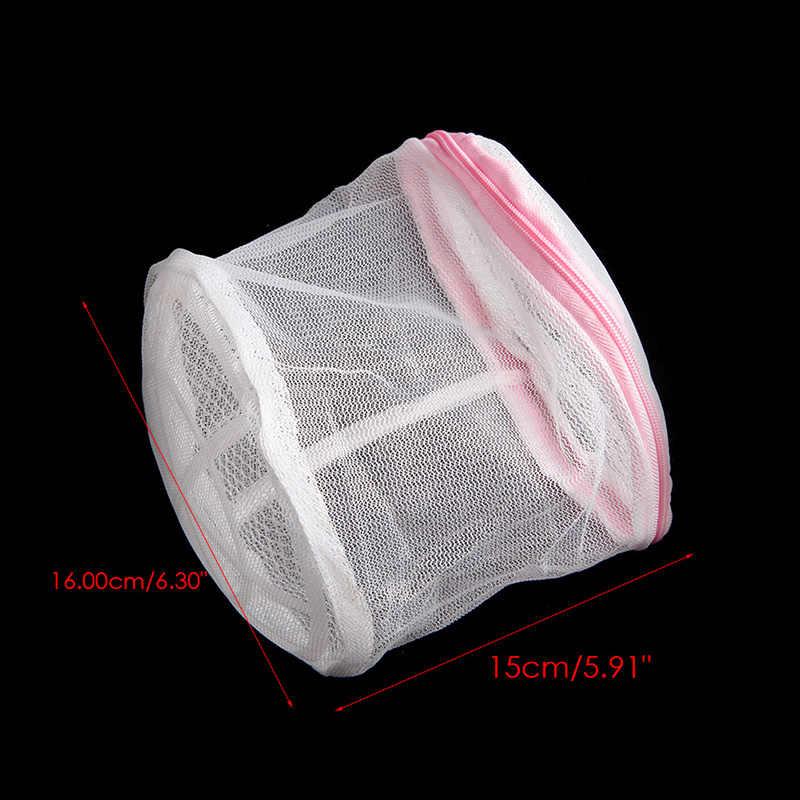 NEW Fechado Saco de Lavagem De Malha De Lavar Roupa Net Lingerie Underwear Bra Roupas Meias