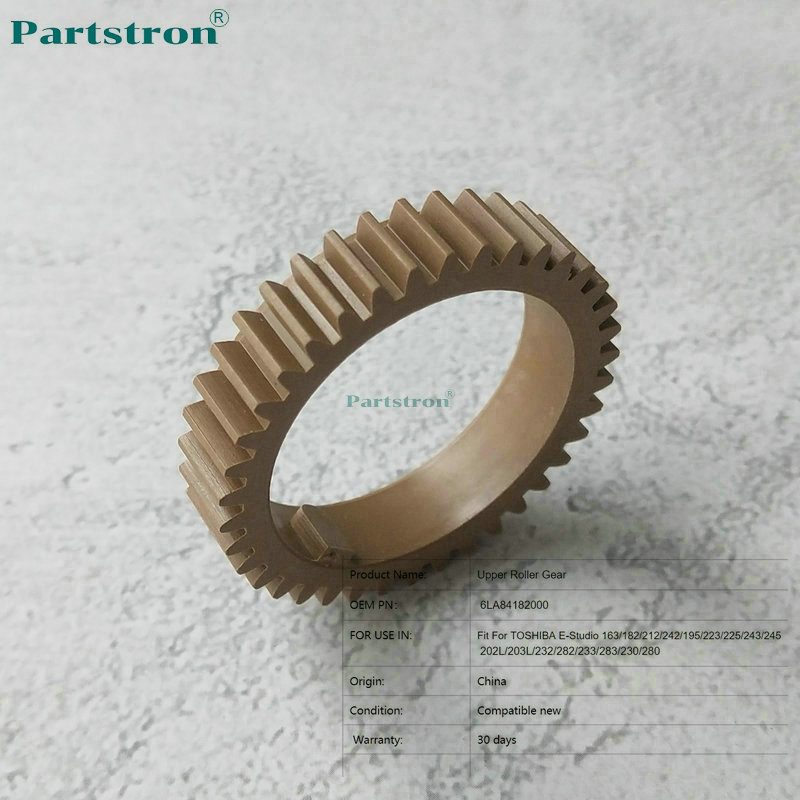 12Pcs Upper Roller Gear 6LA84182000 For Use In TOSHIBA E-Studio 163 182 212 242 195 223 225 243 245 202L 203L 232 282 233 283