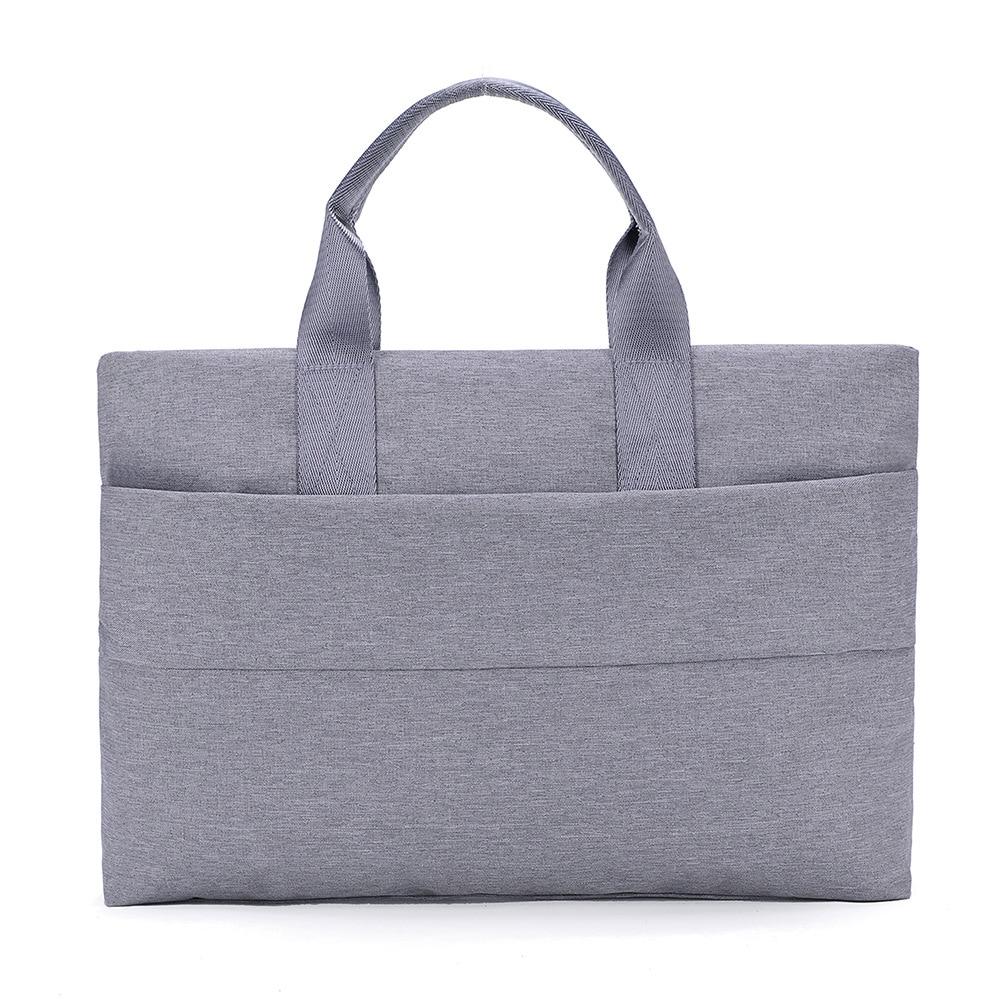 BERAGHINI Unisex Simple Style Business Briefcase Women Canvas Laptop Bags Notebook Handbags Classic Soild Color  Handbag
