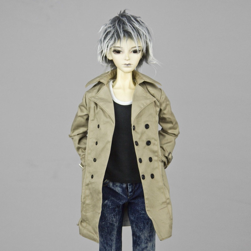 [wamami] 500# Wind Coat/Suit/Outfiit/Clothes SD17 DZ70 70cm AOD DOD Boy BJD Dollfie [wamami]507 silver suit sd17 dod70 dz bjd boy dollfie