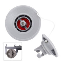 Воздушный клапан с 8 отверстиями и двойным уплотнением pom 1