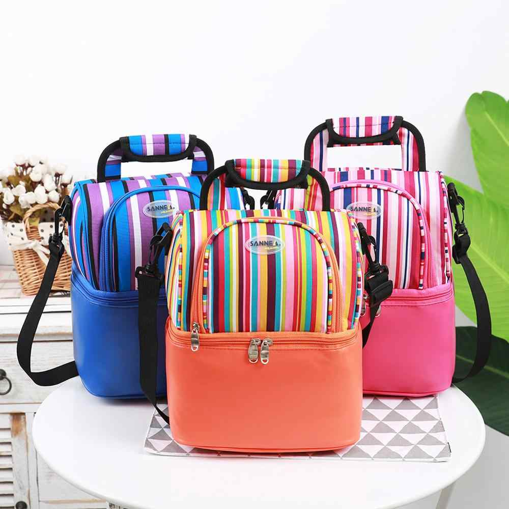 Insulated Lunch Bag For Women Men Kids Cooler Adults Tote Food Lunch Box Neopren Lunch Bags For Women New Fashion Y22@X