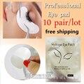 10 pares/pacote Novos Patches Papel Cílios Sob As Almofadas do Olho Lash Extensão Dos Cílios Papel Patches Eye Dicas Sticker Wraps Make Up ferramentas