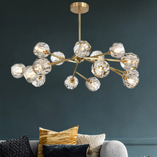 Modern Pendant Ceiling Lamps LED Crystal Pendant Lamp Lights Pending Lighting Chandelier Living Room Dining Room Hanging Lamp