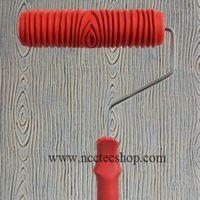 7 Inch Wood Grain Paint Roller 180mm Woodgrain Painting Rollers