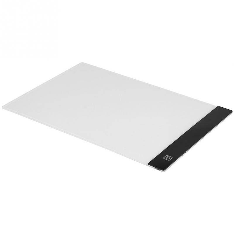 A4 LED Art Stencil Board Light Pad Tracing Drawing Table Board for Kids Artists with Cable