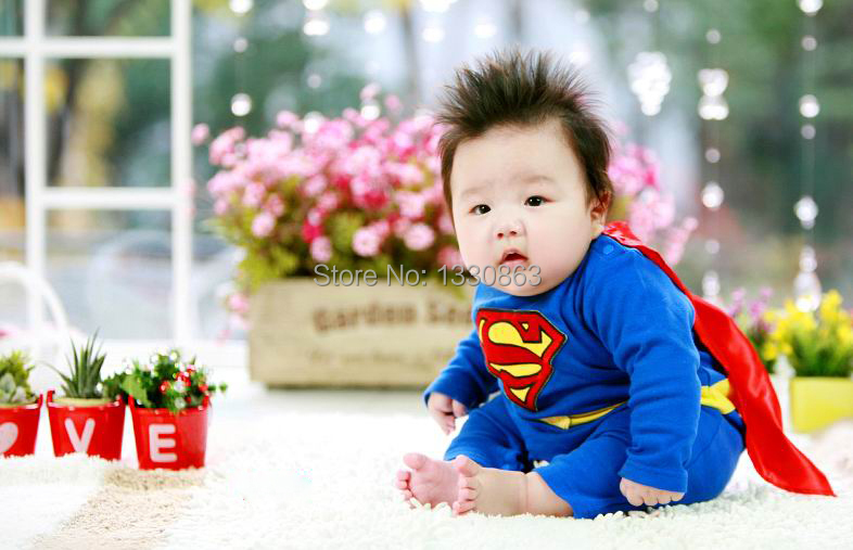 2015 Soft New newborn Baby Costume Photography Props Superman iron man Infant Girl and Boy Knit Crochet(Not include the blanket) newborn baby photography props infant knit crochet costume peacock photo prop costume headband hat clothes set baby shower gift