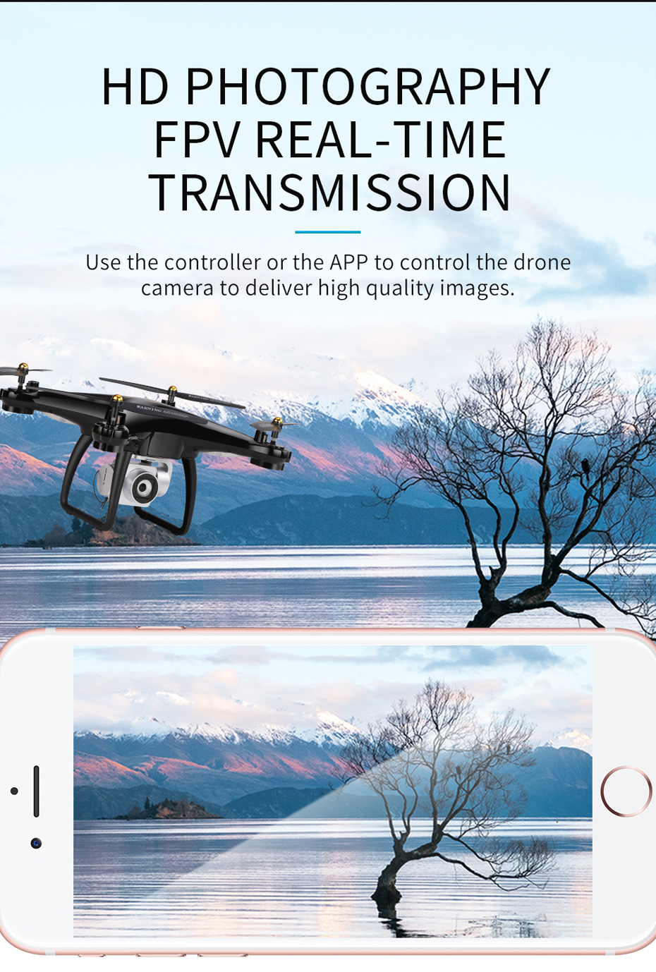 13 Drone 5G Wifi VS H68 Camera 1080P HD