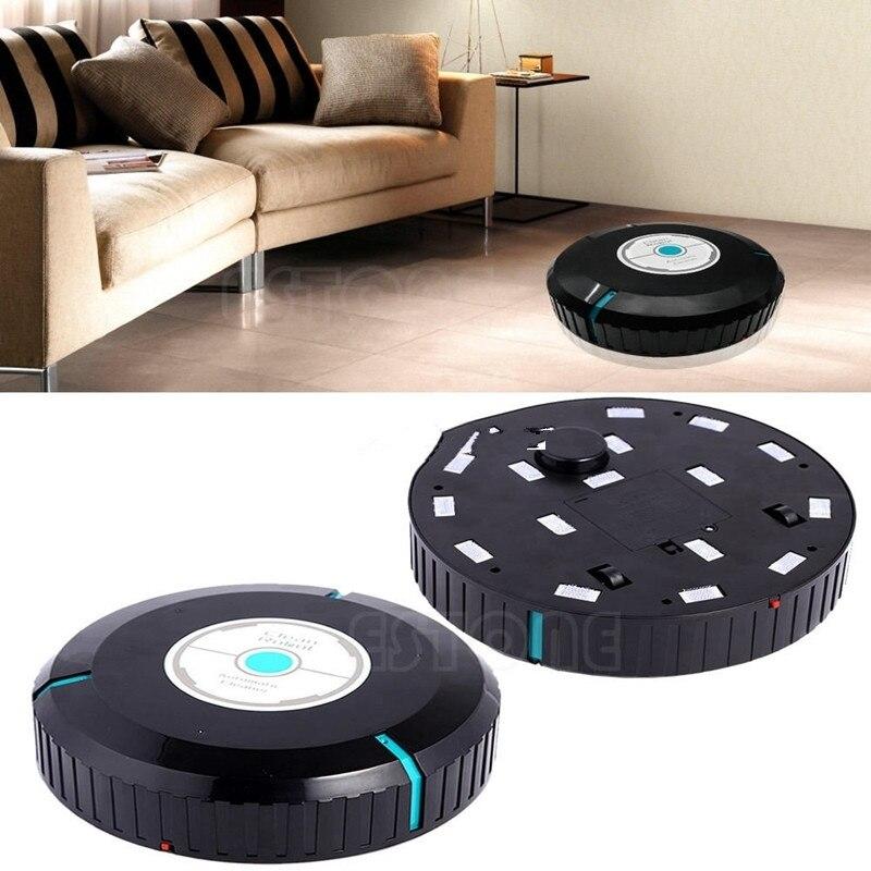 Acheter Noir Microfibre Vadrouille Poussière De Nettoyage Ménage Robotique Smart Auto Robot Cleaner de Pièces d'aspirateur fiable fournisseurs