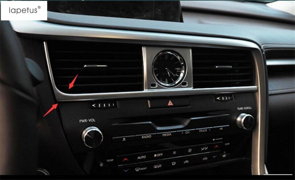 Aksesuarlar! LEXUS RX 200T 450H 2016 2017 2018 2019 / mat üsluba - Avtomobil daxili aksesuarları - Fotoqrafiya 5