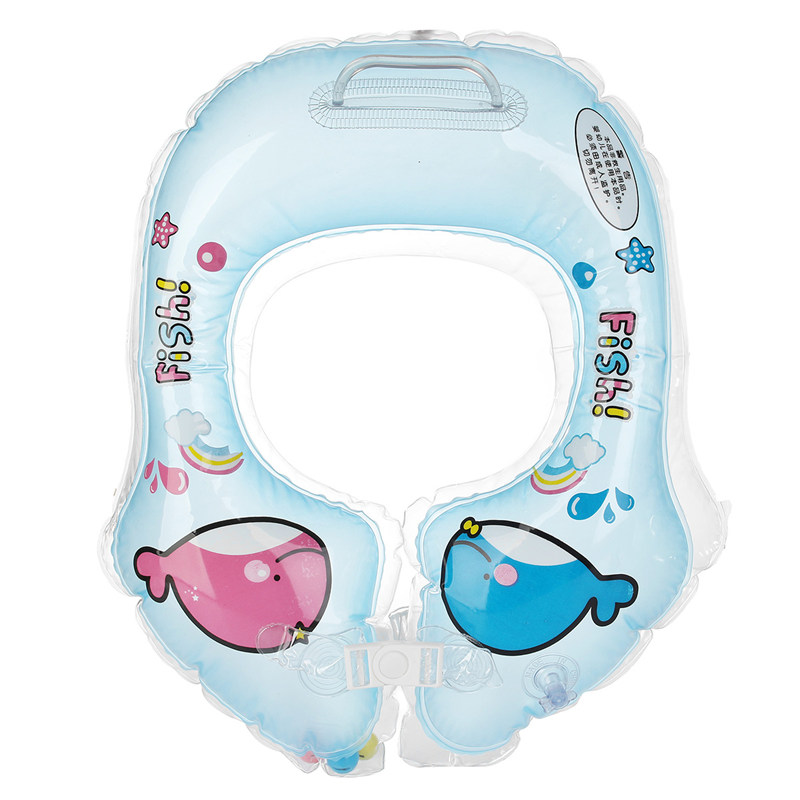 Swimming Swim Neck Ring Swimming Ring Inflatable Thicker Baby Armpit Security Aid Circle Floating Swimming Pool & Accessories