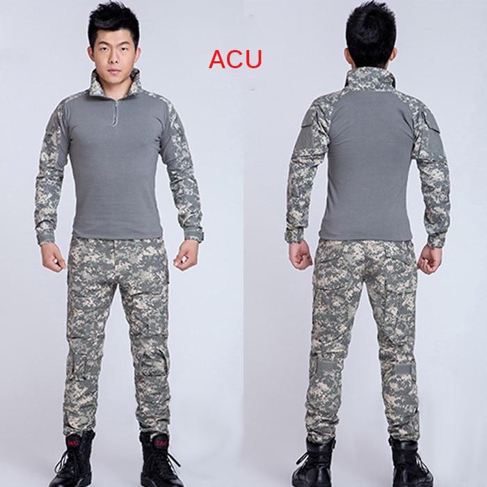 Hommes de plein air grenouille costume armée uniforme militaire - Sportswear et accessoires - Photo 2