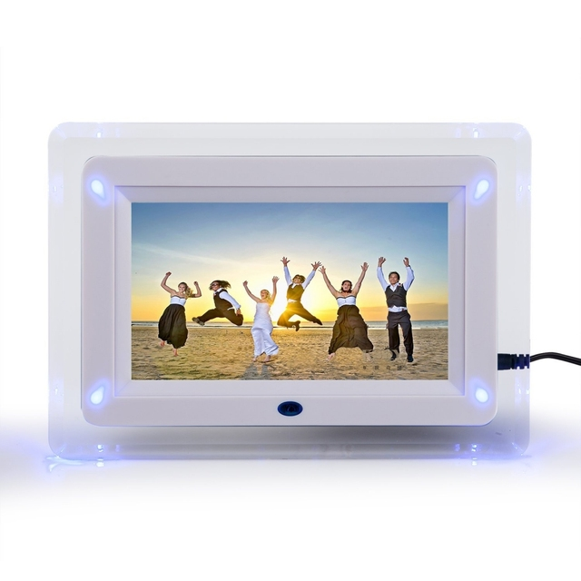 7 Tft Lcd Multi Functional Digital Photo Picture Movie Frame Mp3