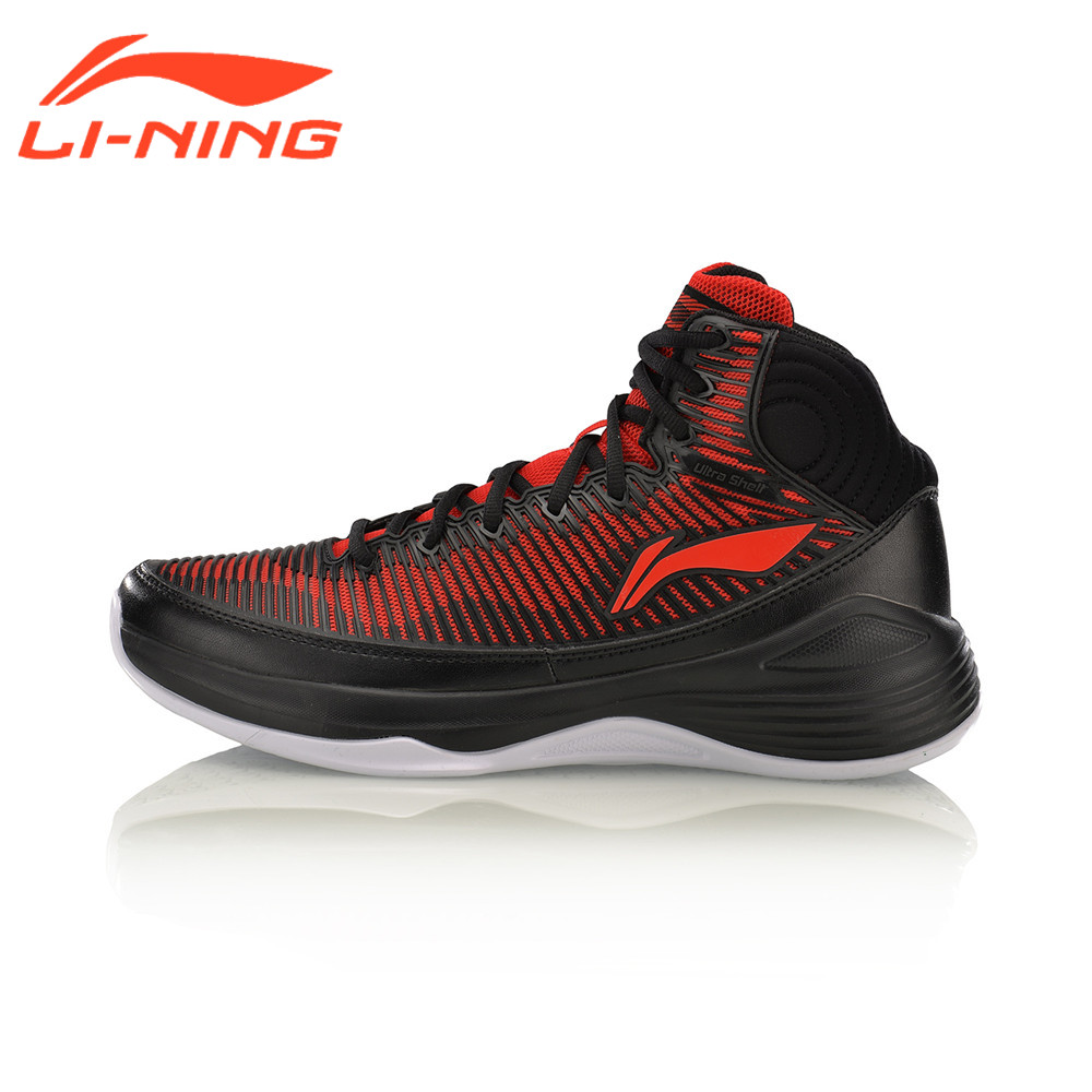 Li-Ning Men's QUICKNESS On Court Basketball Shoes Support Cushioning LiNing Sneakers Sports Shoes ABPM015 original li ning men professional basketball shoes