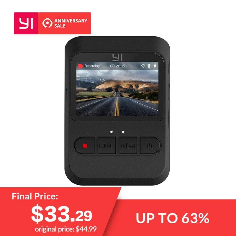 YI Mini Dash Kamera 1080 p FHD Dashboard Video Recorder Wi-Fi Auto Kamera mit 140 Grad weitwinkel Objektiv nachtsicht G-Sensor
