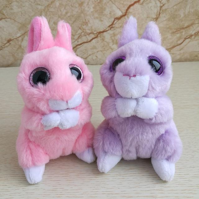 371876882ab 1PC 10CM Jasper red rabbit april purple bunny Ty beanie babies Plush Toy  Stuffed Animal Nano dolls children toy soft plush toy