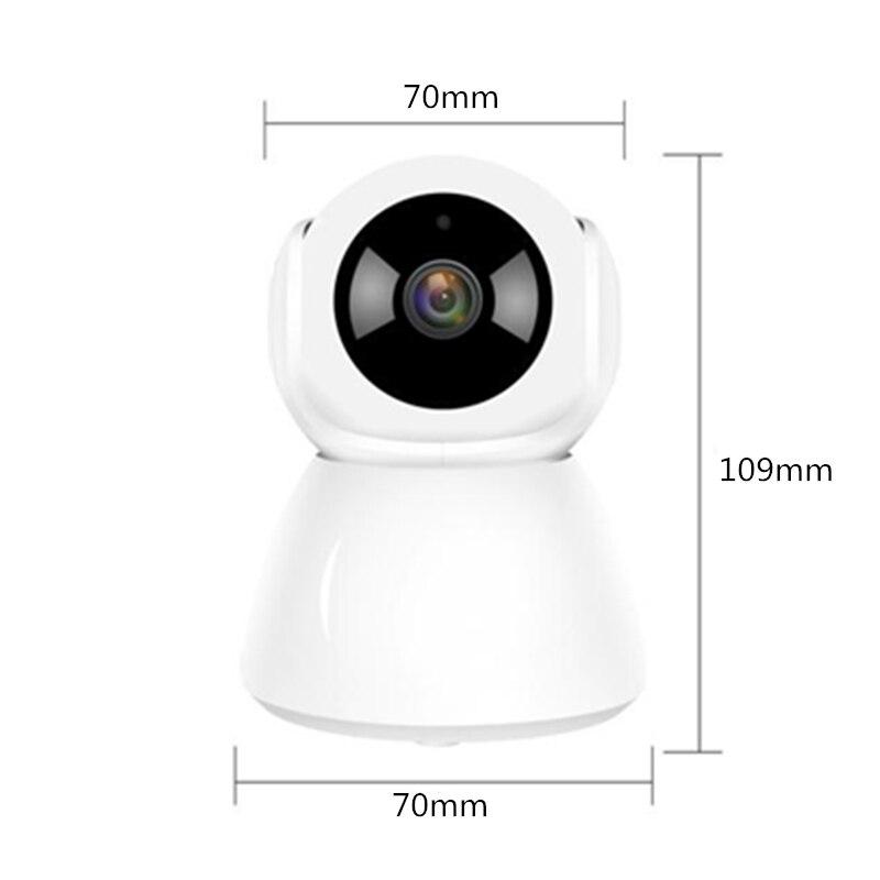 H.265 Wireless IP Pan Tilt Indoor Camera Full HD 2MP Wifi Two Way Audio Motion Detection Alarm V380 IP Camera Baby Monitor5