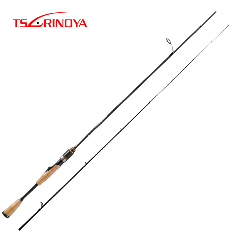 TSURINOYA PROFLEX 1 89m Carbon Fiber Spinning Rod Fast Action Ultra Light Lure Fishing Rod Fuji
