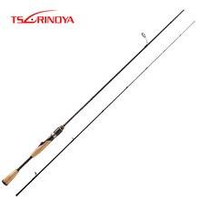TSURINOYA PROFLEX 1.89Mคาร์บอนไฟเบอร์Spinning Rod Fast Action Ultra Light Lure Fishing Rod Fujiอุปกรณ์เสริมUL Bassตกปลาเสา