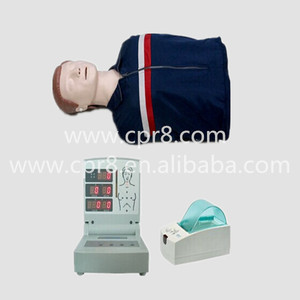 BIX-CPR260 Half-Body Computer CPR Manikin, Computer Adult Half Body CPR Manikin Model whole body basic cpr manikin style 200 male female nursing manikin