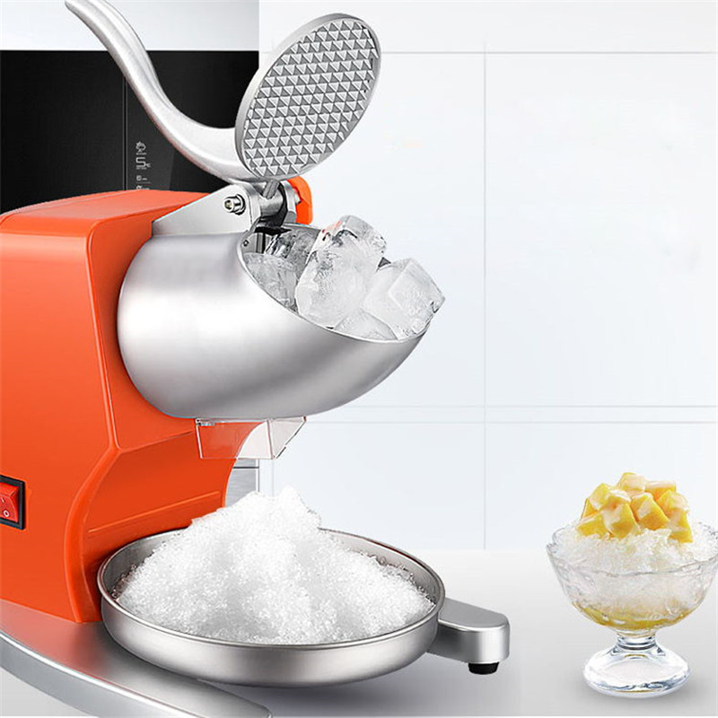 Jamielin Electric Snow Cone Ice Block Making Machine Ice Crusher Shaver  Household Commercial Ice Slush Sand Maker Ice TeaJamielin Electric Snow Cone Ice Block Making Machine Ice Crusher Shaver  Household Commercial Ice Slush Sand Maker Ice Tea
