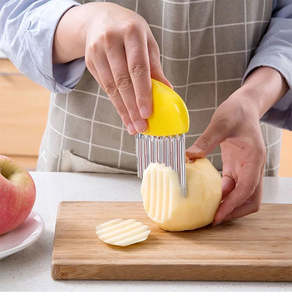 Knife Kitchen Product-Gadgets Slicers-Wrinkled Potato Fries-Salad Cutting Onion Chopped
