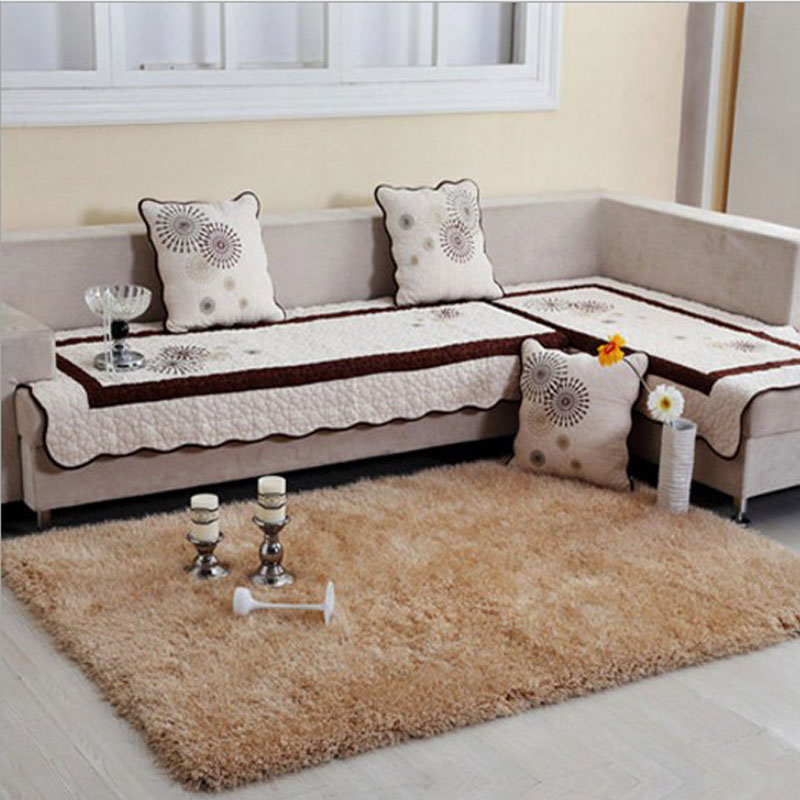 70cm X 140cm Shaggy Coffee Table Carpet Hair Length 6cm ...