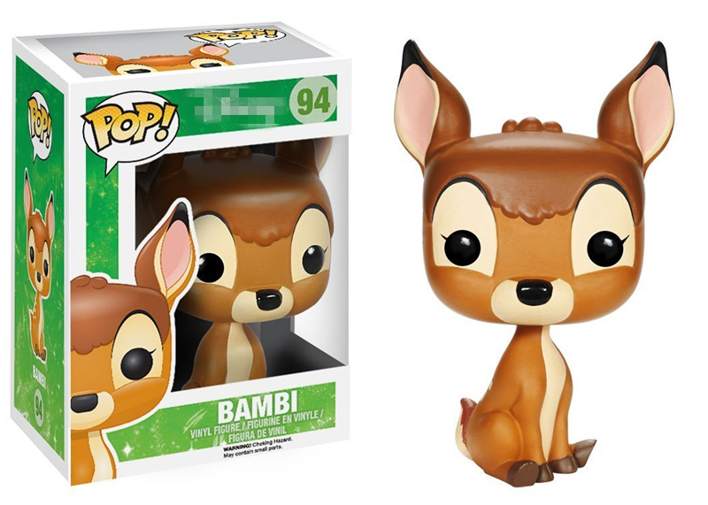 FUNKO POP Official Movies: Bambi - Bambi Vinyl Action Figure Collectible Model Toy with Original box funko pop movies walking dead hershel greene action figure model high quality free freight