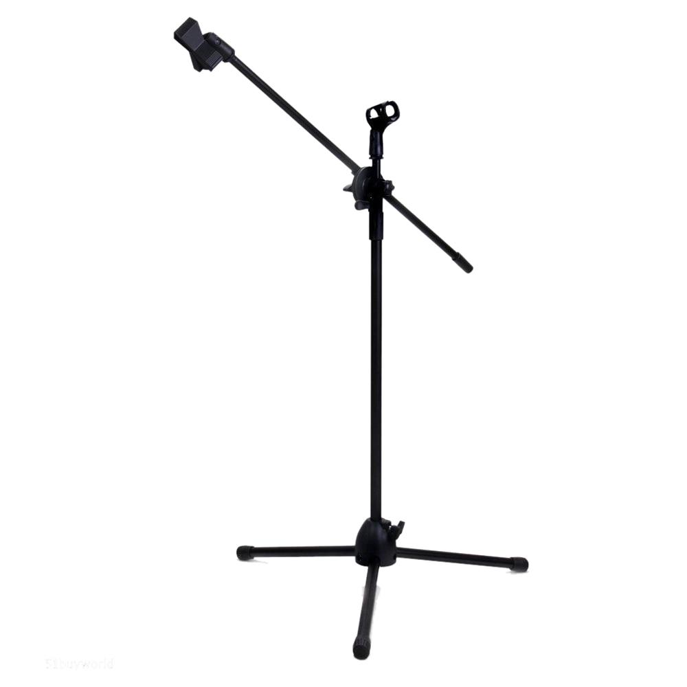 Heimelektronik Zubehör Maha Dual Clips Boom Mikrofon Mic Stand Halter Einstellbare Faltbare Stativ Neue Exquisite Handwerkskunst; Unterhaltungselektronik